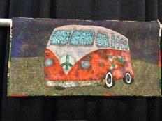 bus quilt