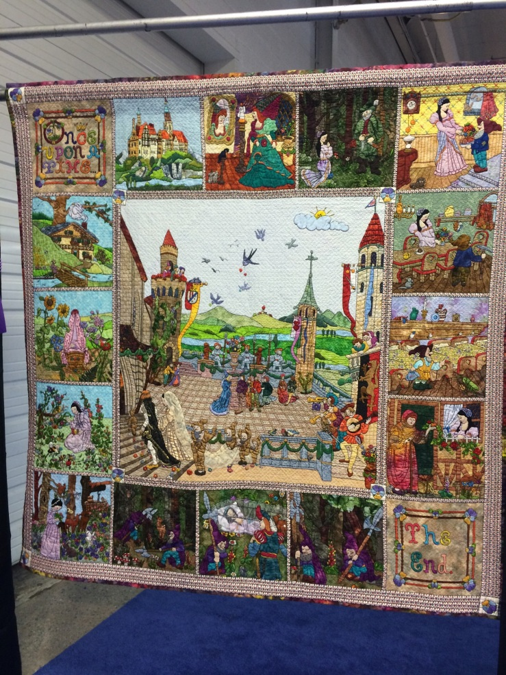 Best of Show & Viewers Choice Winner: PA National Quilt Extravaganza XXI